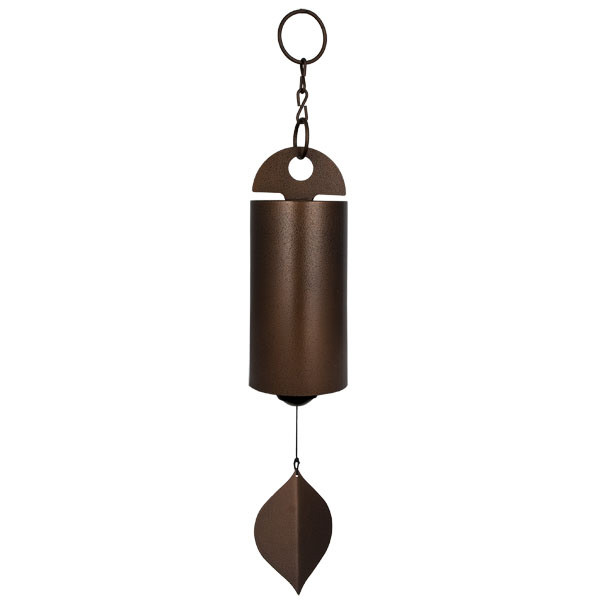 Woodstock Chimes Antique Copper Heroic Windbell Large Picture 599