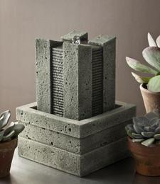 Ridge Cast Stone Tabletop Fountain by Campania International