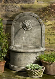 Delicieux Stone Lion Wall Fountain By Campania International
