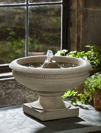 Veranda Cast Stone Tabletop Fountain by Campania International