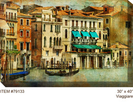 Viaggiare Canvas Wall Art