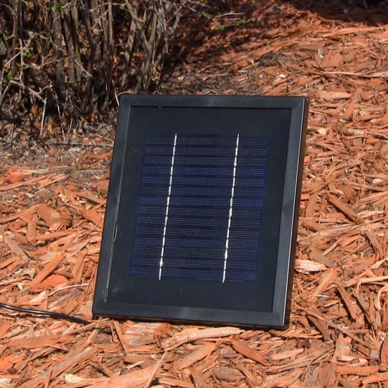 solar panel - Solar Powered Fountain