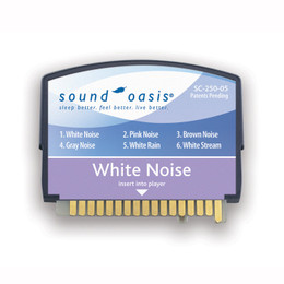 Sound Oasis White Noise Sound Card for S-550 Sound Machine