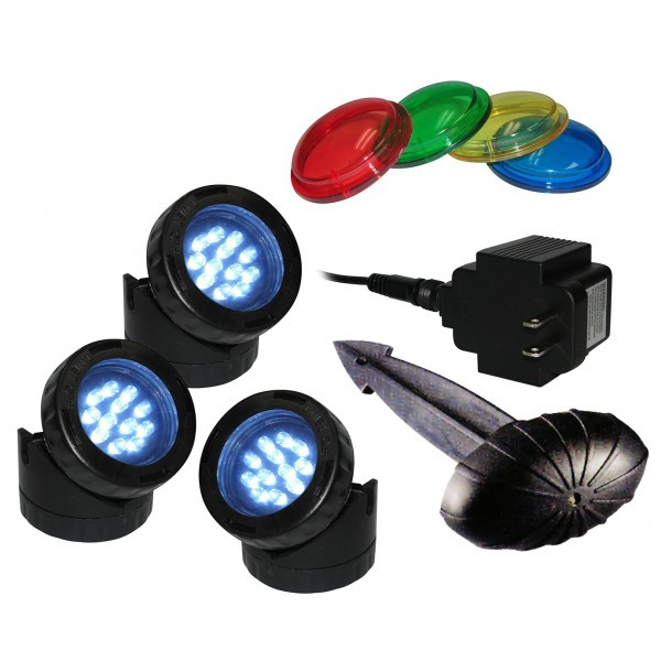 Luminosity All One Light LED Pond Light Kit Picture 802