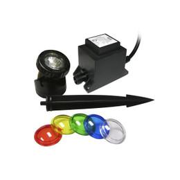 Powerbeam 20 Watt Light w/ Color Lenses & Transformer