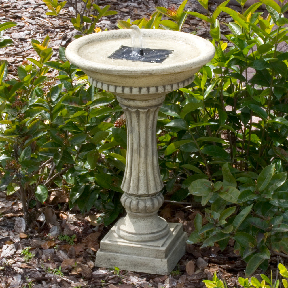 Smart Solar Ashbourne Solar Birdbath Fountain Image 258