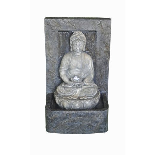Alpine WCT Buddha Poly Fountain LED Lights Inch Picture 455