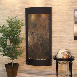 Textured Black & Rajah Featherstone