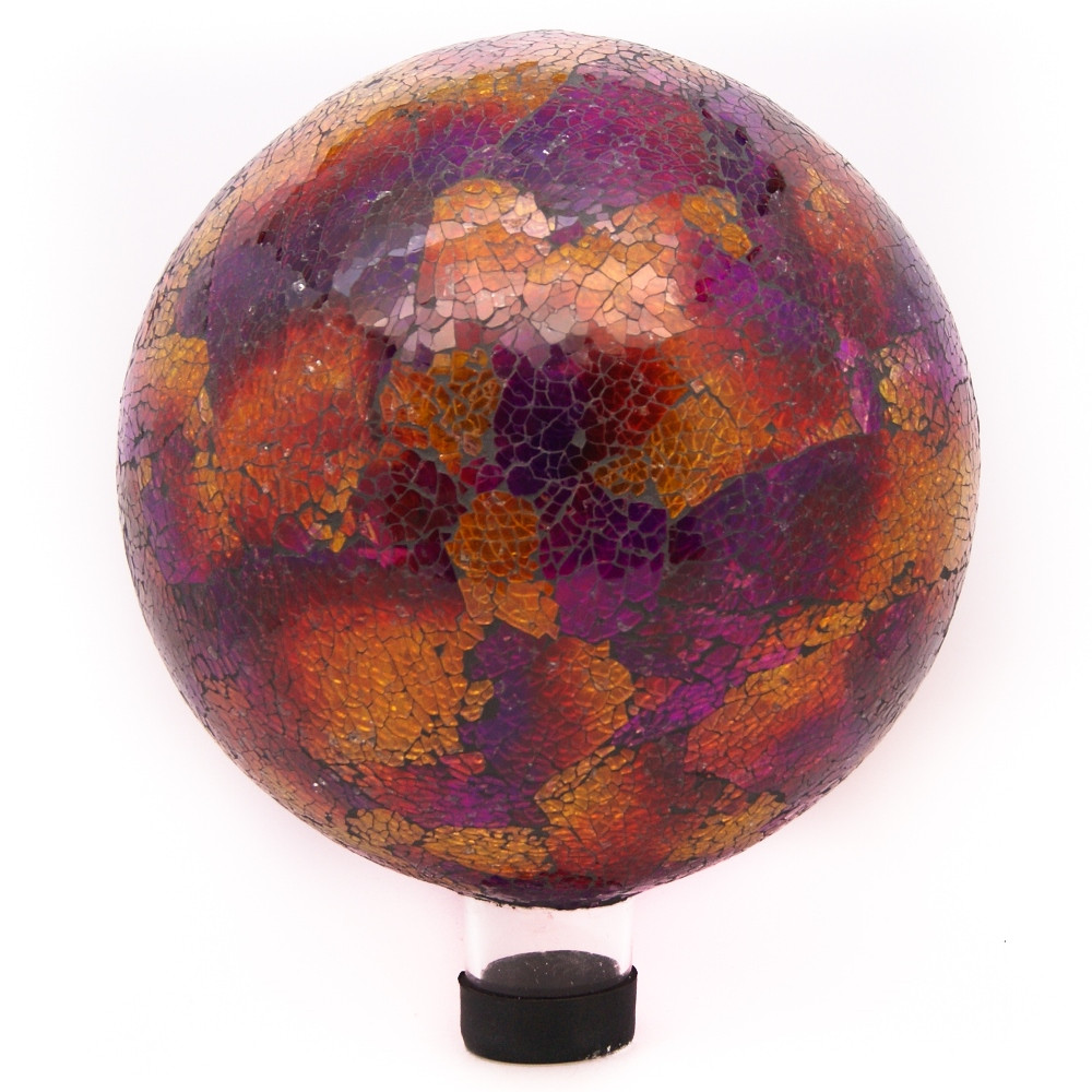 in Mosaic Gazing BallRed Picture 785