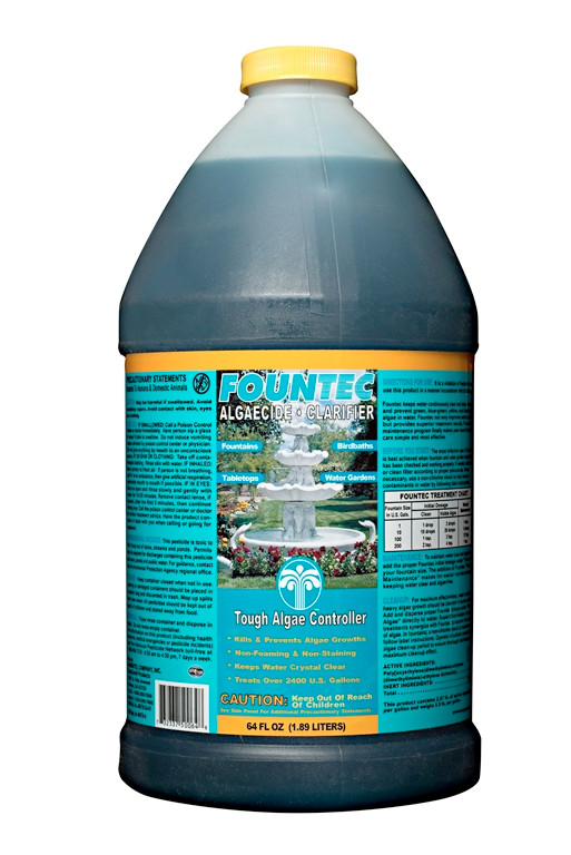 Easycare Fountec Algaecide Clarifier Bottle Image 783