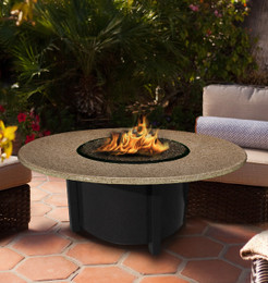Carmel Chat Fire Pit Table by California Outdoor Concepts