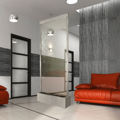 Stainless Steel with Clear Glass