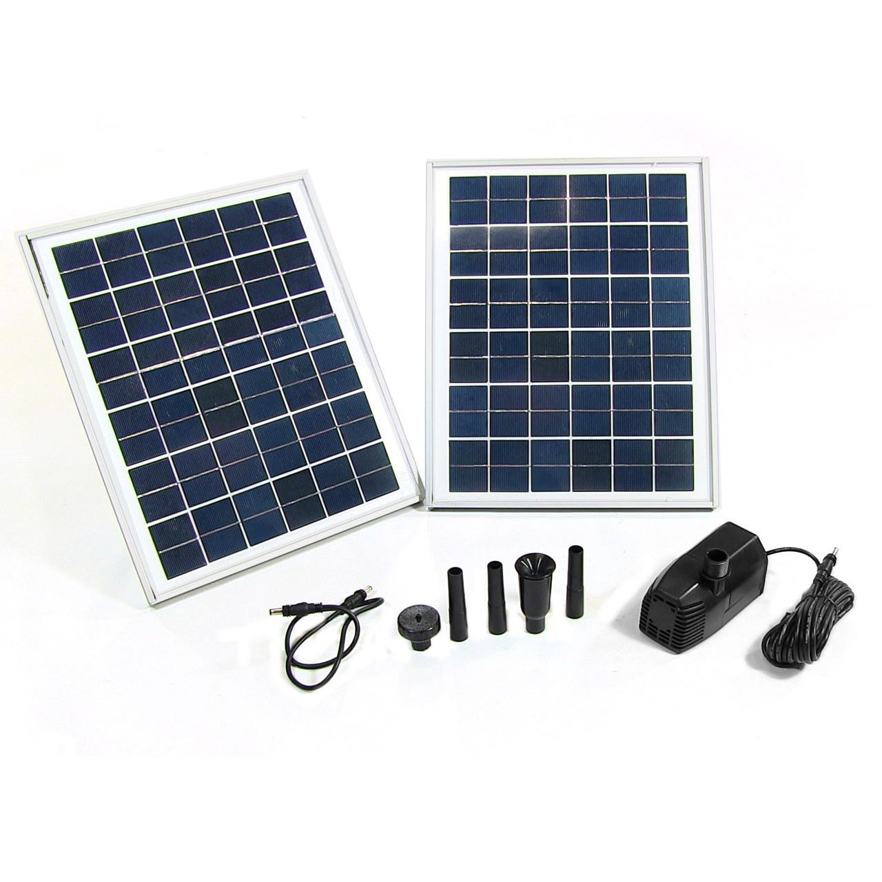 Sunnydaze Solar Pump Solar Panel Kit Lift Picture 326