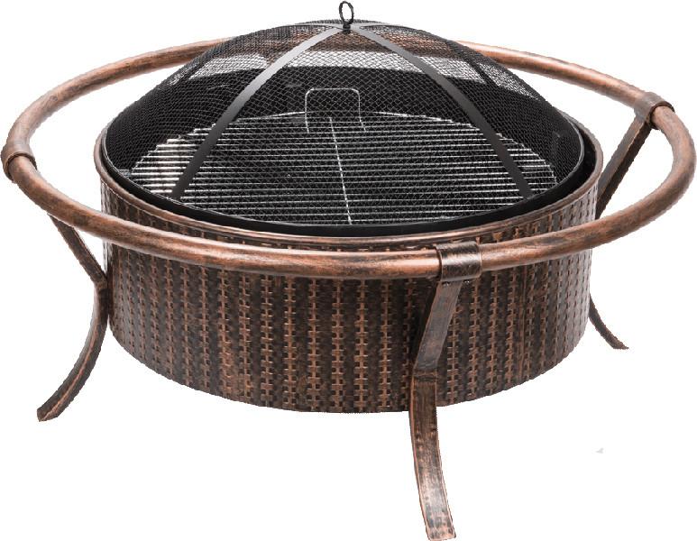 Weave Design CopperBlack Fire Pit Picture 244