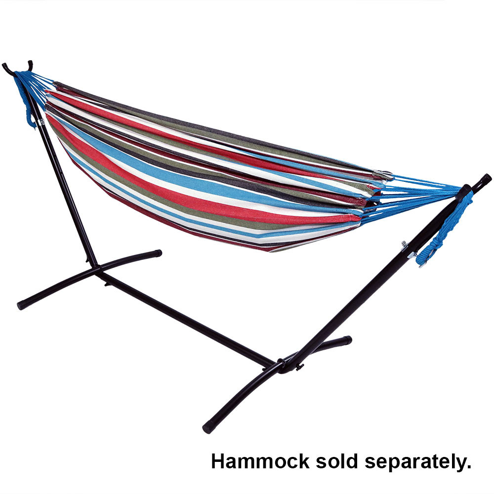 black    bronze    green    black with hammock  hammock not included      sunnydaze 2 person space saving brazilian hammock stand portable      rh   serenityhealth