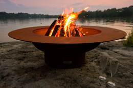 Magnum Fire Pit by Fire Pit Art