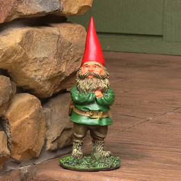 Timothy the Gnome, 9 Inch Tall by Sunnydaze Decor