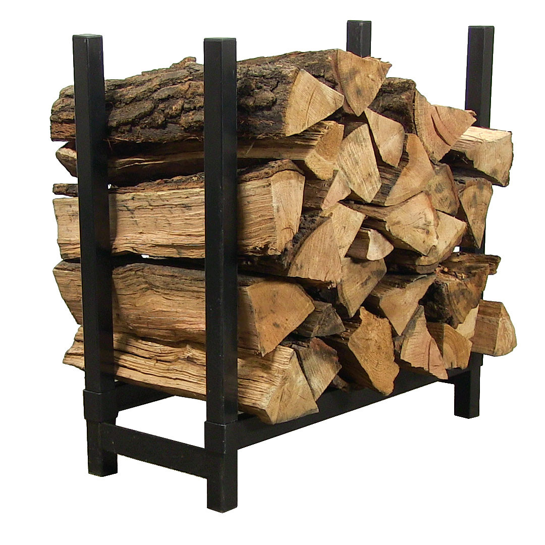 "Sunnydaze Décor Indoor/Outdoor Firewood Rack – 24"" H"