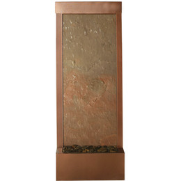 4u0027 Coppervein Gardenfall With Slate Panel