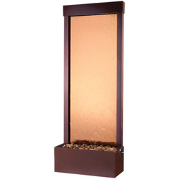 4' Dark Copper Gardenfall with Bronze Mirror