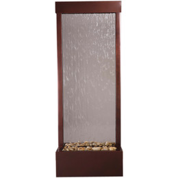 4' Dark Copper Gardenfall With Clear Glass