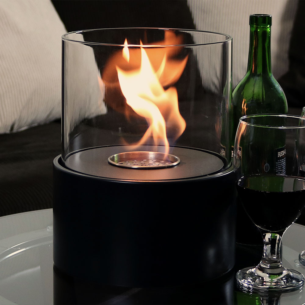 Sunnydaze Circa Ventless Tabletop Bio Ethanol Fireplace