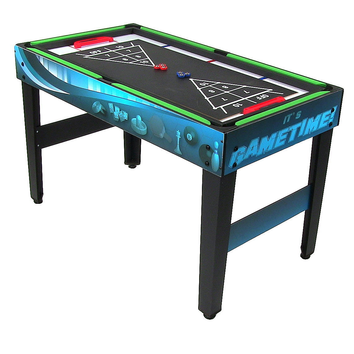 Sunnydaze 40 inch 10 in 1 multi game table for Supreme 99 table game