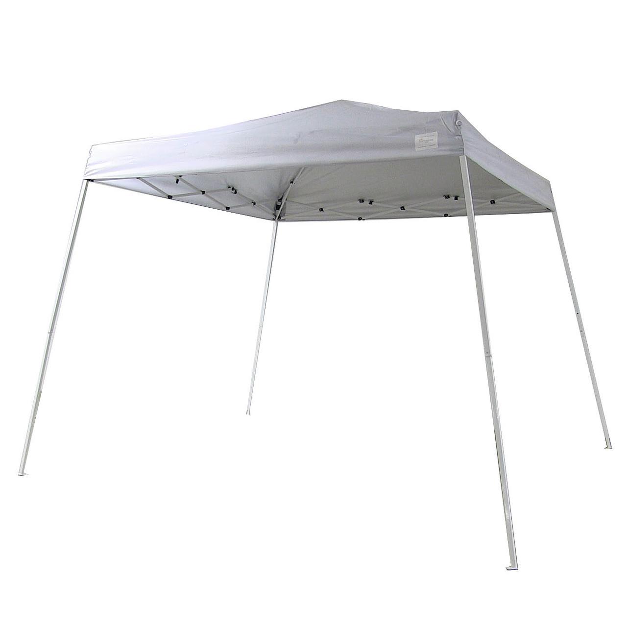 Navy Canopy; White Canopy ...  sc 1 st  Serenity Health & Sunnydaze Quick-Up 8u0027 x 8u0027 Top 10u0027 x 10u0027 Ground Slant Leg Canopy ...