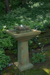 Henri Studio Cast Stone Falling Water Fountain