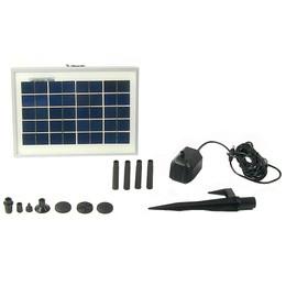 Sunnydaze Solar Pump and Solar Panel Kit With 47 Inch Head