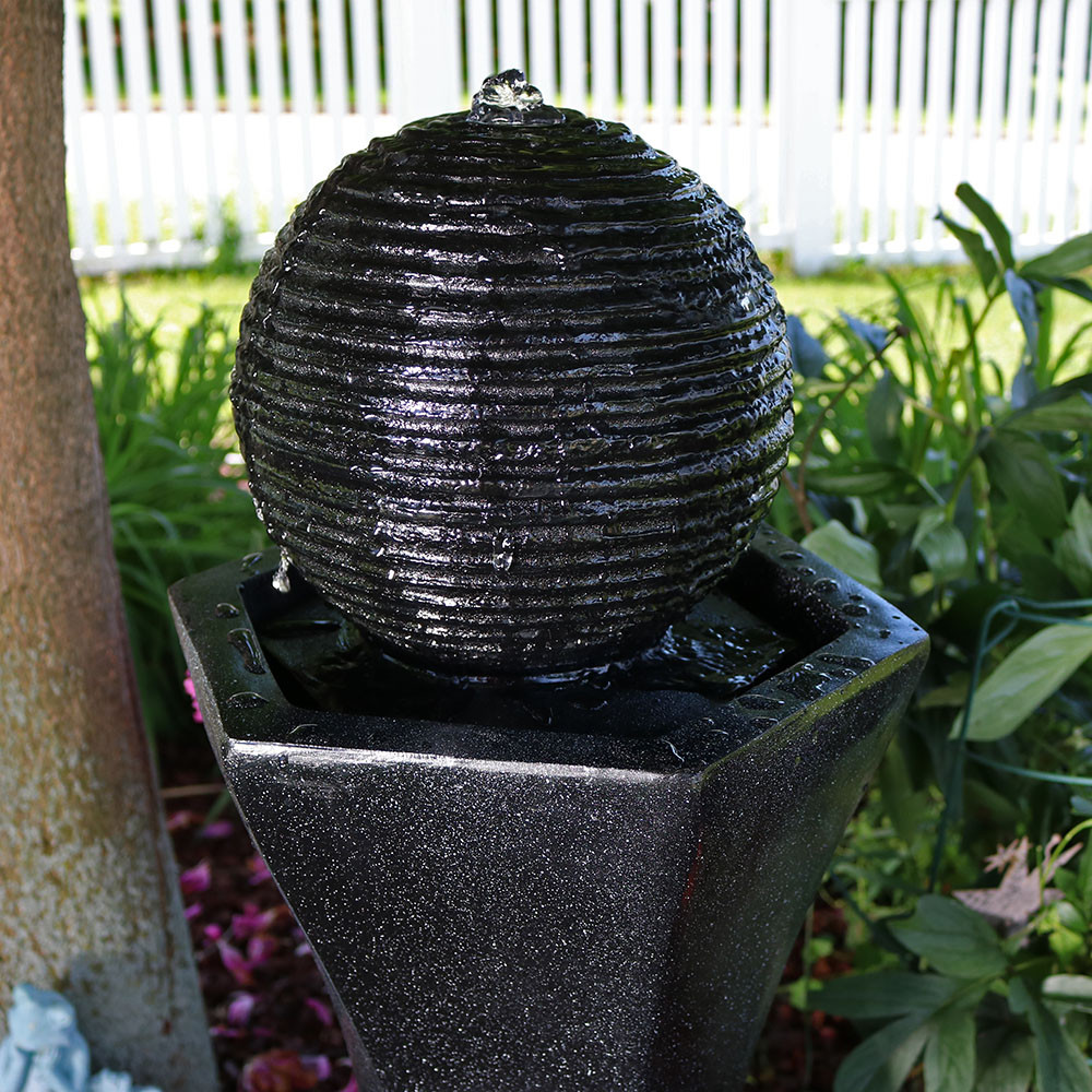 top view - Solar Water Fountain