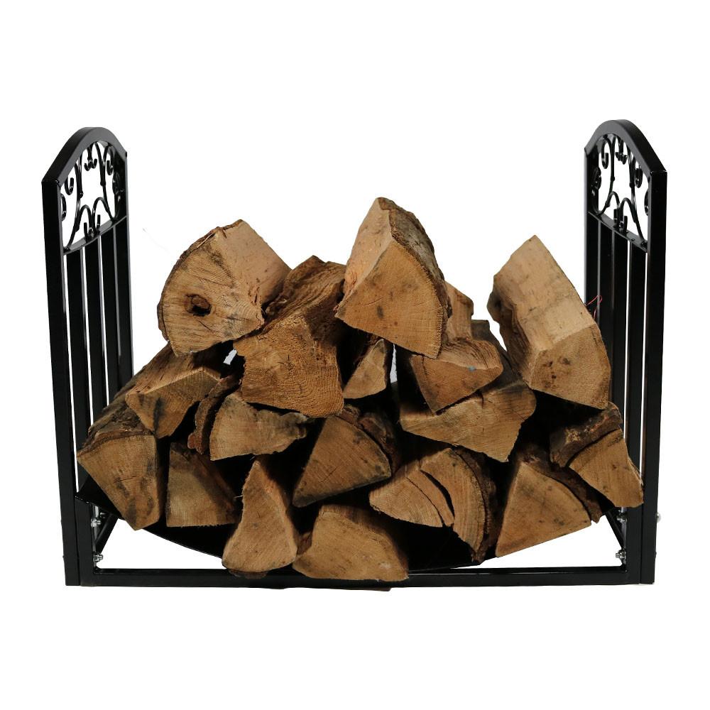 Sunnydaze 2\' Designer Log Rack| Fire Pits