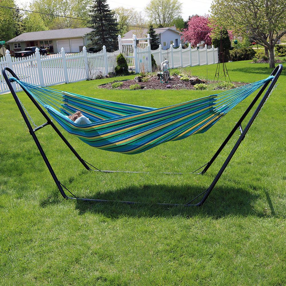 hammock stand sea grass