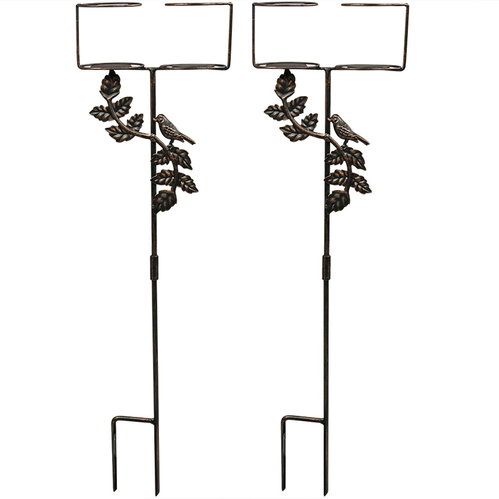 dual drink holder set of 2 - Decorative Accents