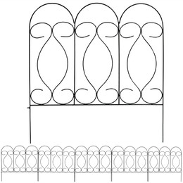 0272465 as well 0436936 together with Sunnydaze 5 Piece Traditional Border Fence Set 24 H X 24 W Each Piece together with B007G2X6HY together with Margate Rectangular Bar Height Outdoor Table Base. on rattan outdoor furniture