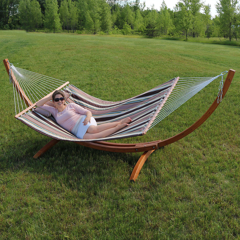 green brazilian stands space with dp garden hammocks stand carrying person capacity saving hammock portable amazon sunnydaze outdoor pound case com
