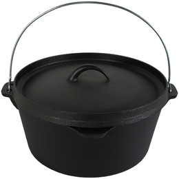 Cast Iron Dutch Oven