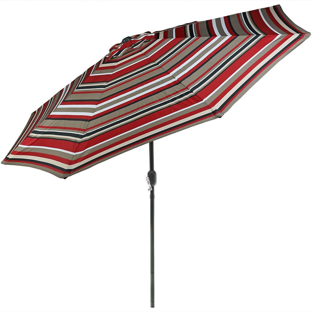 Striped Patio Umbrellas On Sale