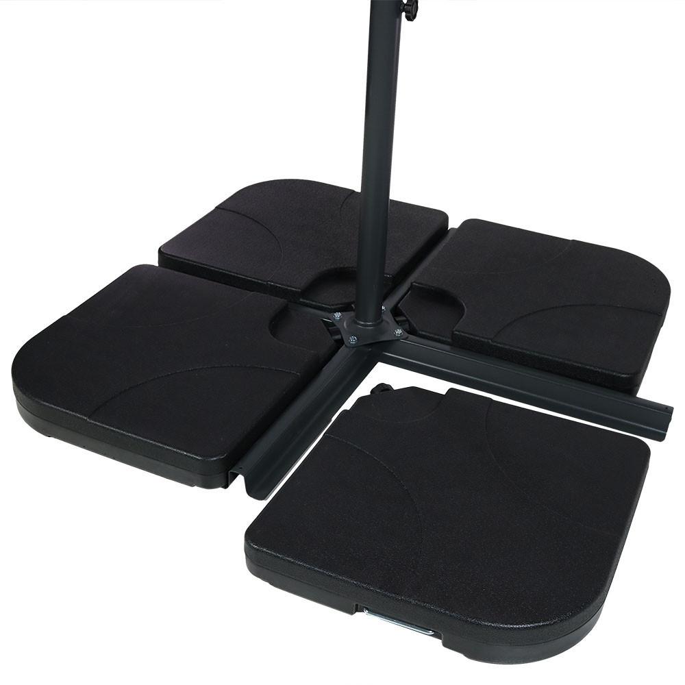 Image 1; Set Of 4 Base Plates ...