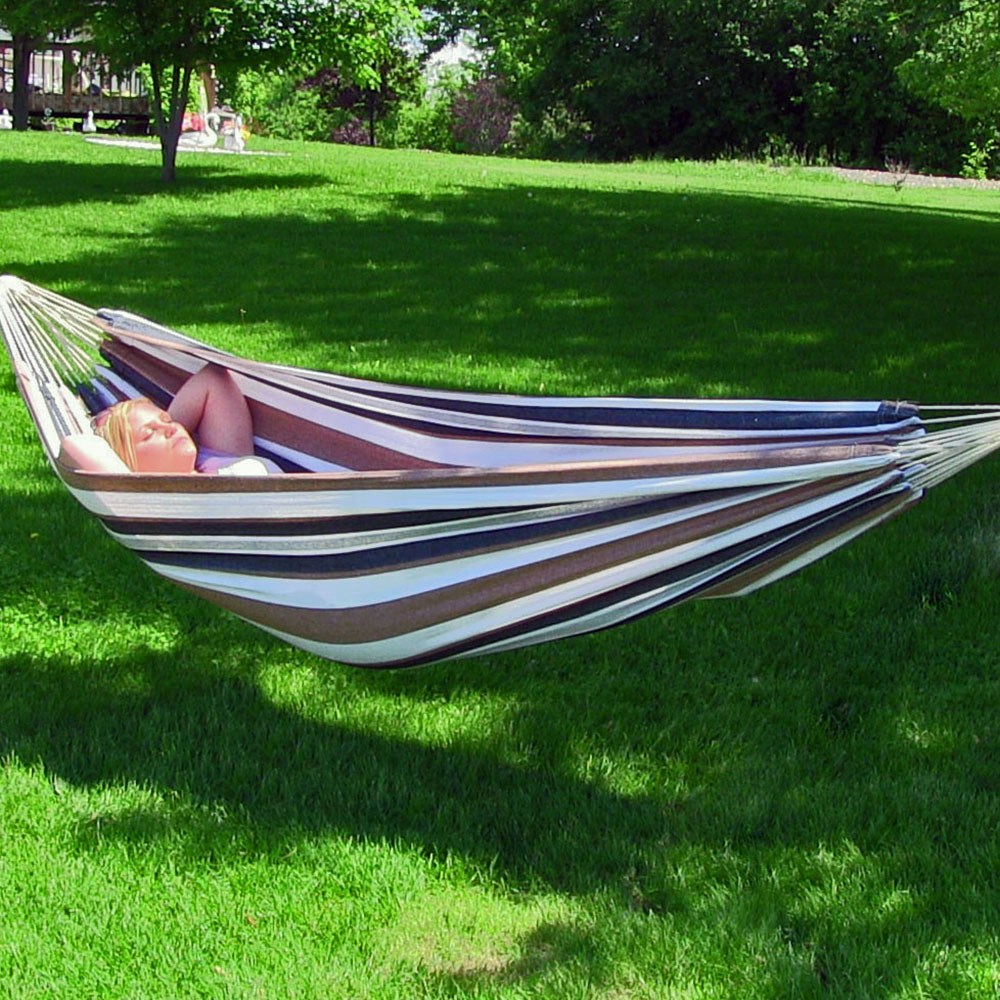 calming desert hammock only outdoors     sunnydaze jumbo brazilian double hammock large 2 person portable      rh   serenityhealth
