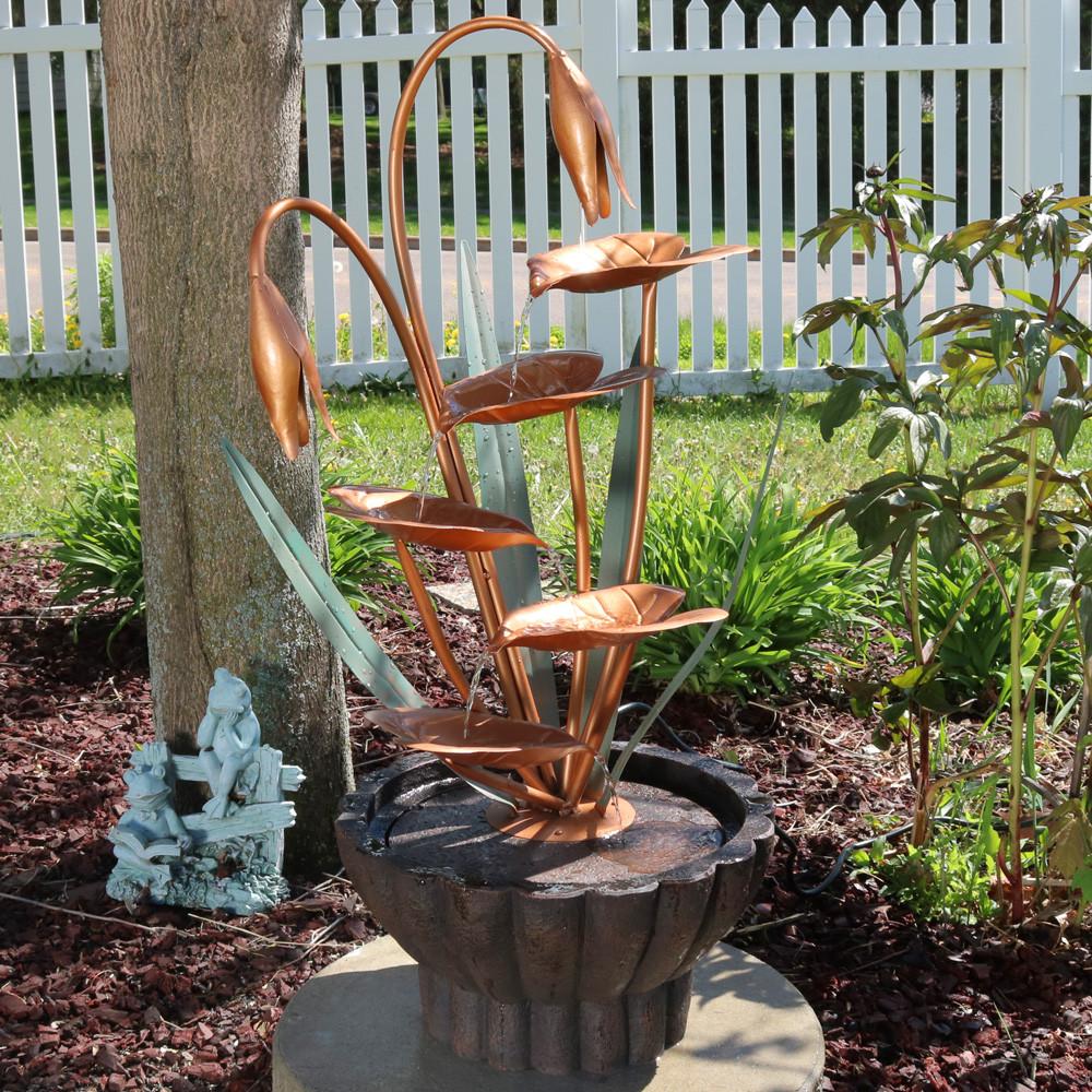 resin u0026 fiberglass fountains lightweight garden water fountains