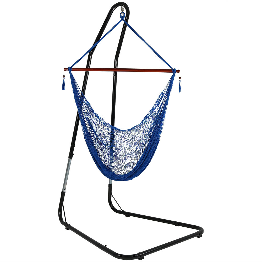 Sunnydaze Hanging Cabo Extra Large Hammock Chair 47 Inch