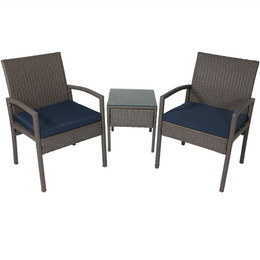 Bita 3-Piece Lounger Patio Furniture Set