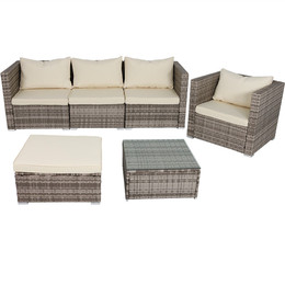 Boa Vista Wicker Rattan 6-Piece Sofa Patio Furniture Set -- Alternate Option