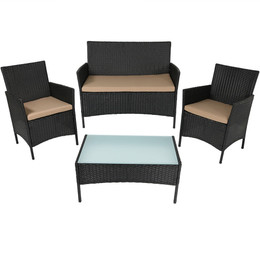Enmore 4-Piece Lounger Patio Furniture Set