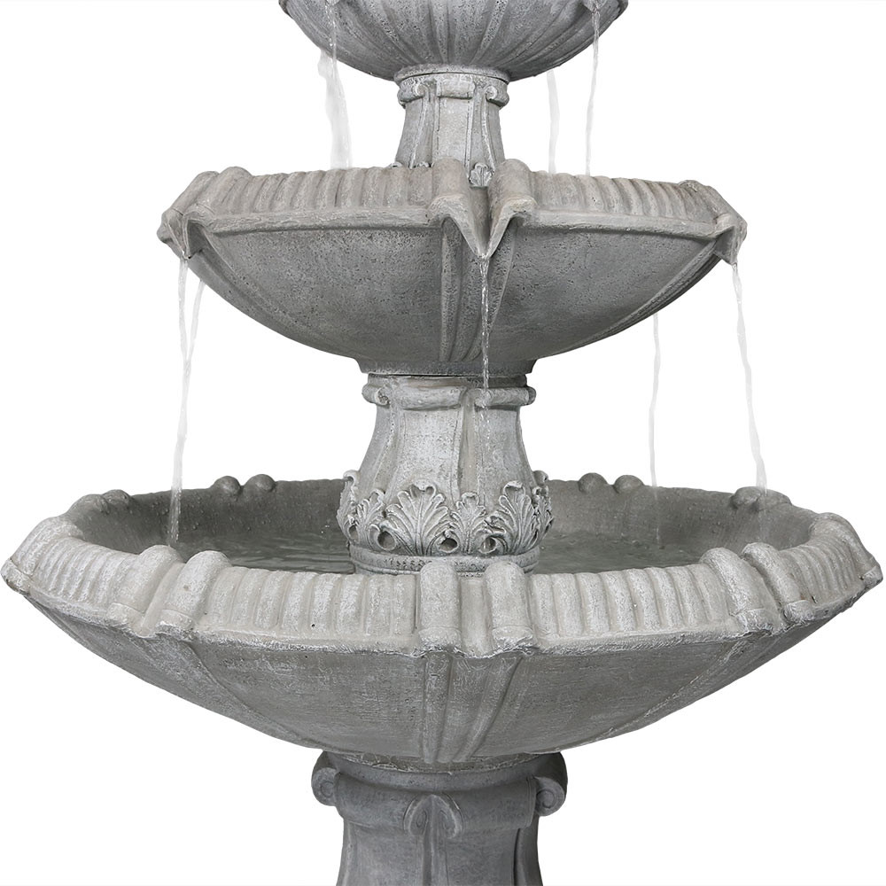 ... Fountain Top · Tiers Closeup ...