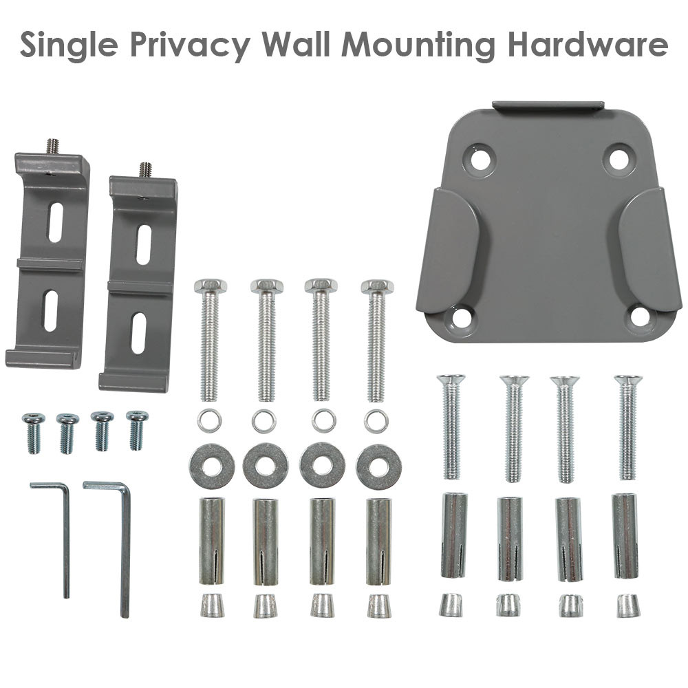 ... Single Privacy Wall Hardware ...