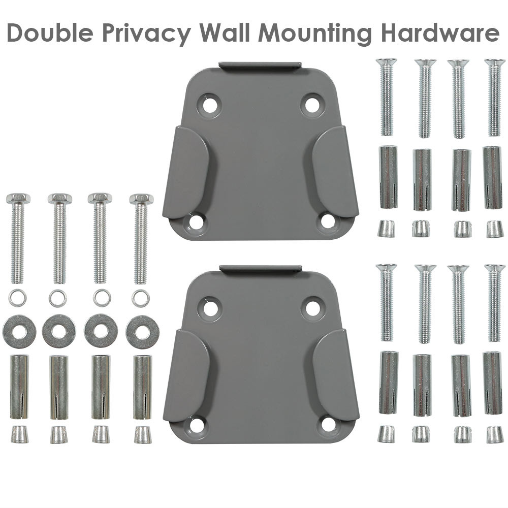 ... Double Privacy Wall Hardware ...