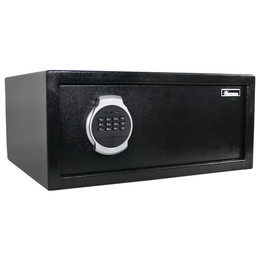 Sunnydaze Steel Digital Home Security Safe with Bolt-Down Hardware and Programmable Lock, 1.19 Cubic Feet
