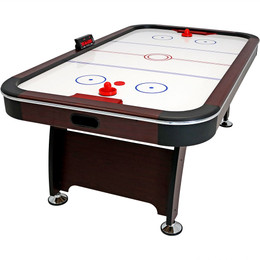 Sunnydaze 7-Foot Air Hockey Table with Scorer